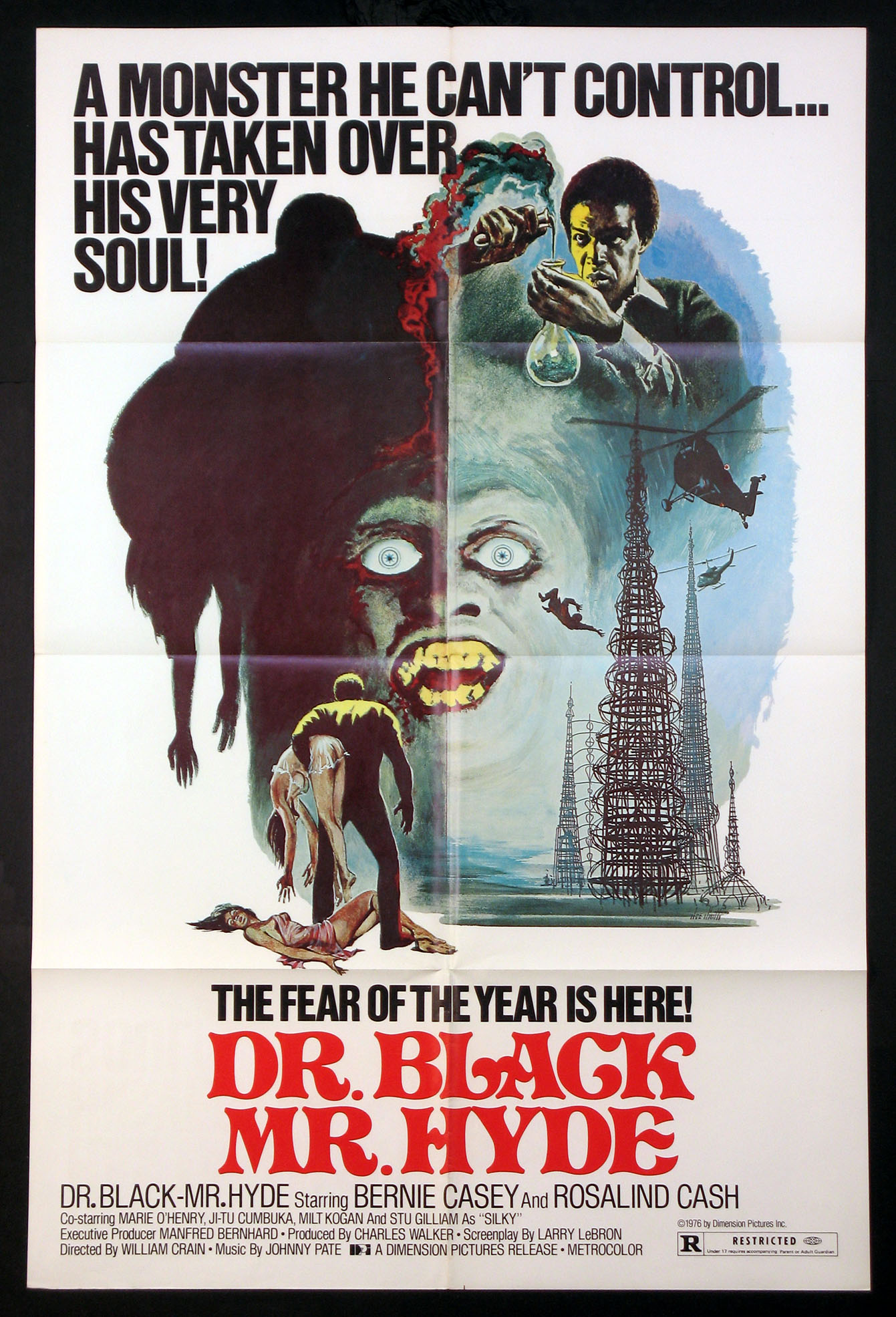 DR. BLACK MR. HYDE @ FilmPosters.com