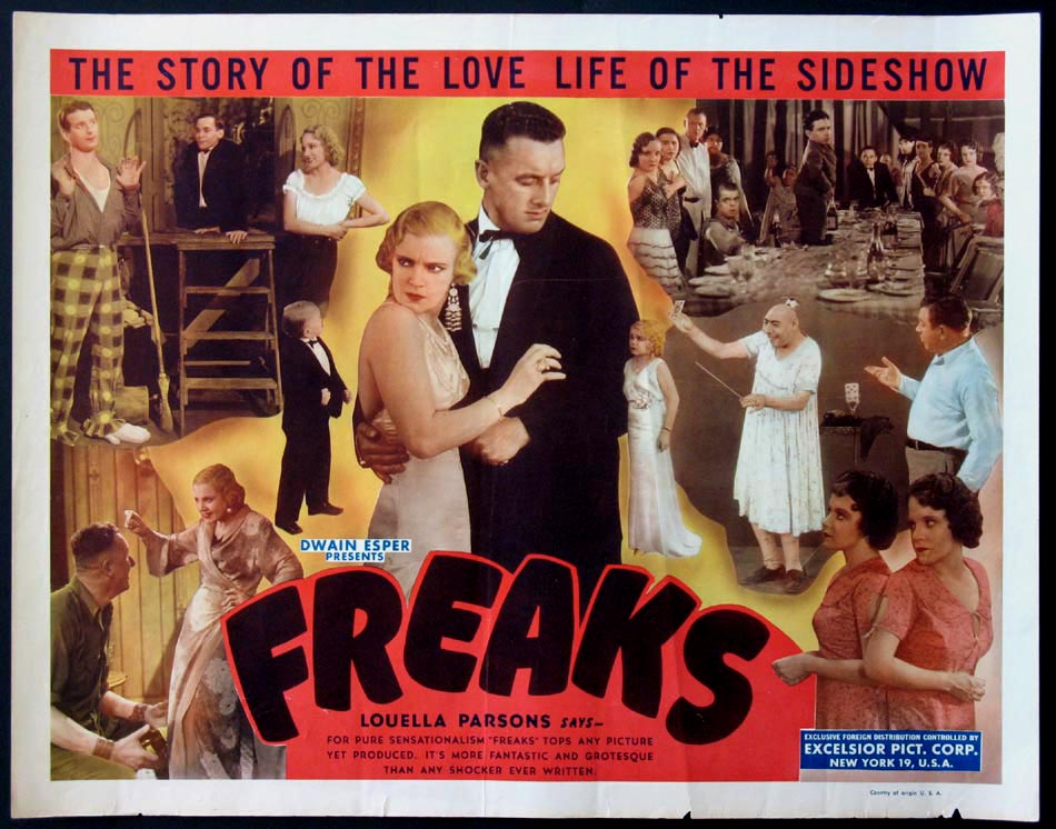 FREAKS @ FilmPosters.com
