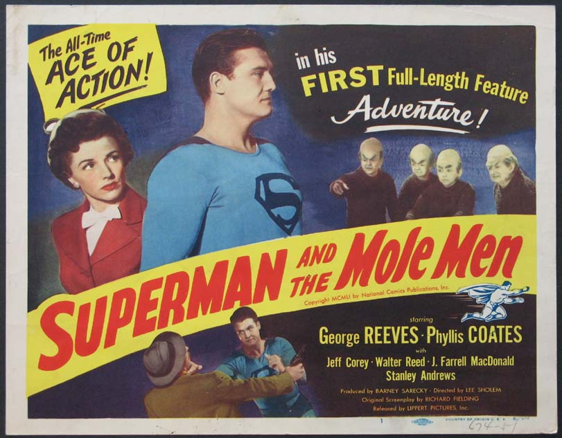 SUPERMAN AND THE MOLE MEN @ FilmPosters.com