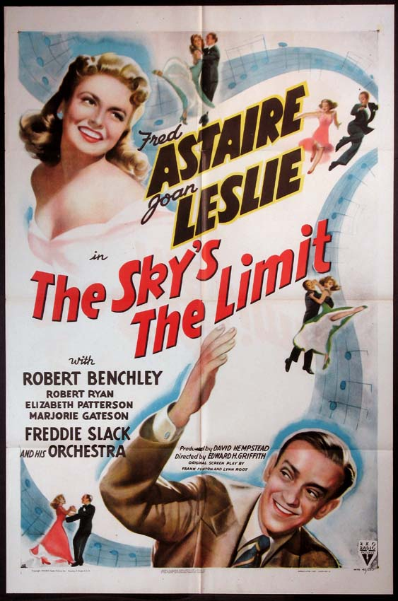 SKY'S THE LIMIT, THE @ FilmPosters.com