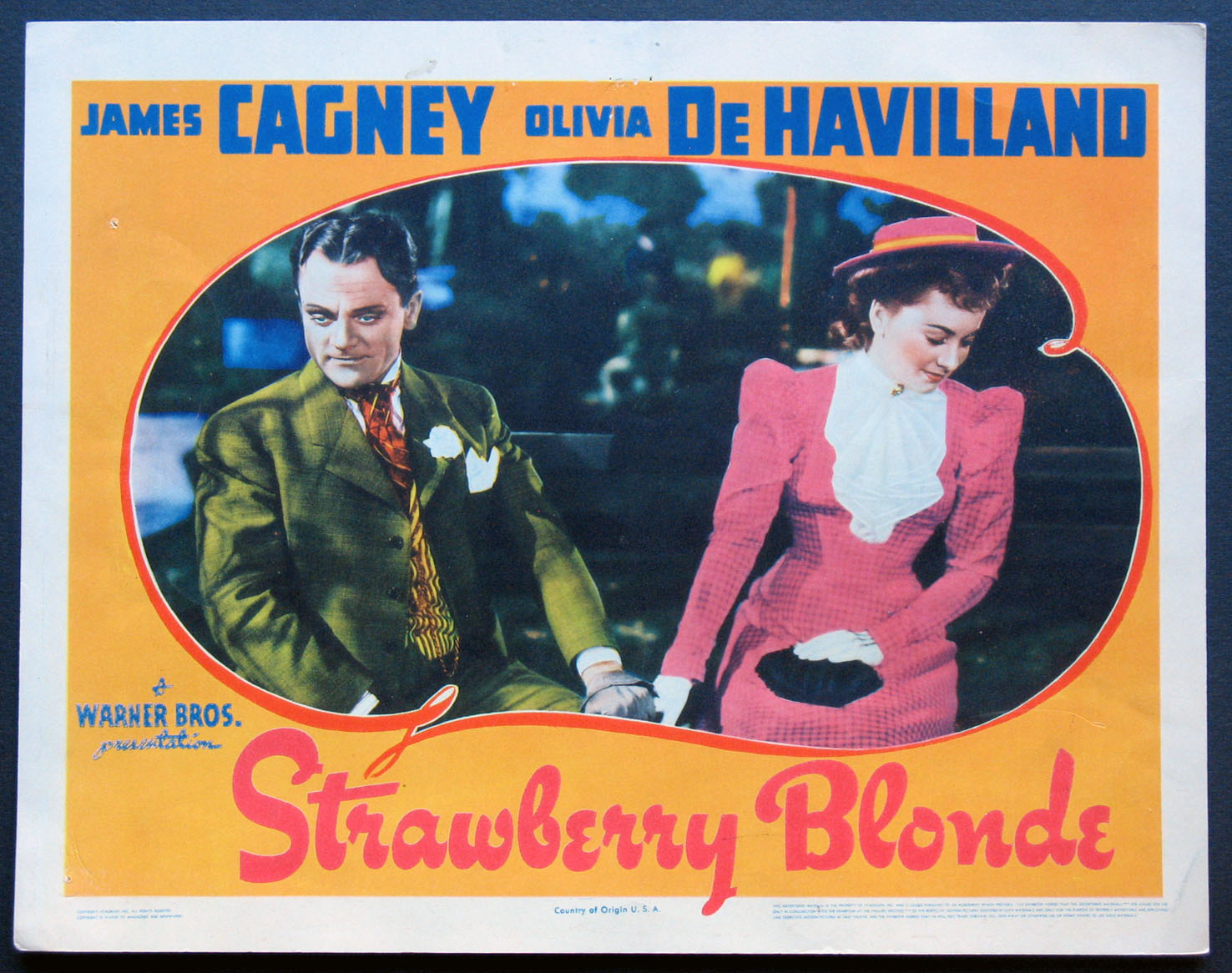 STRAWBERRY BLONDE @ FilmPosters.com