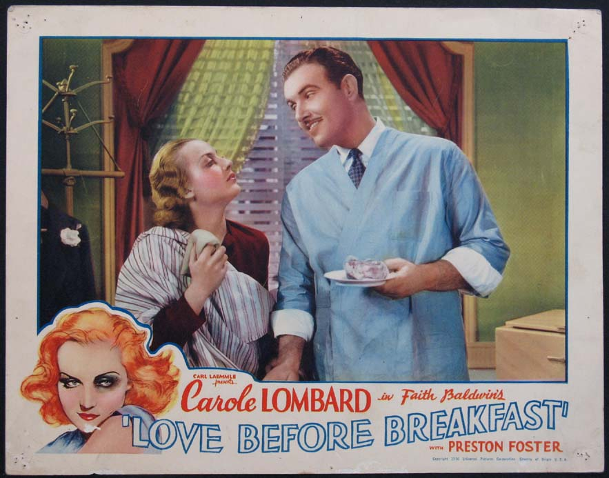 LOVE BEFORE BREAKFAST @ FilmPosters.com
