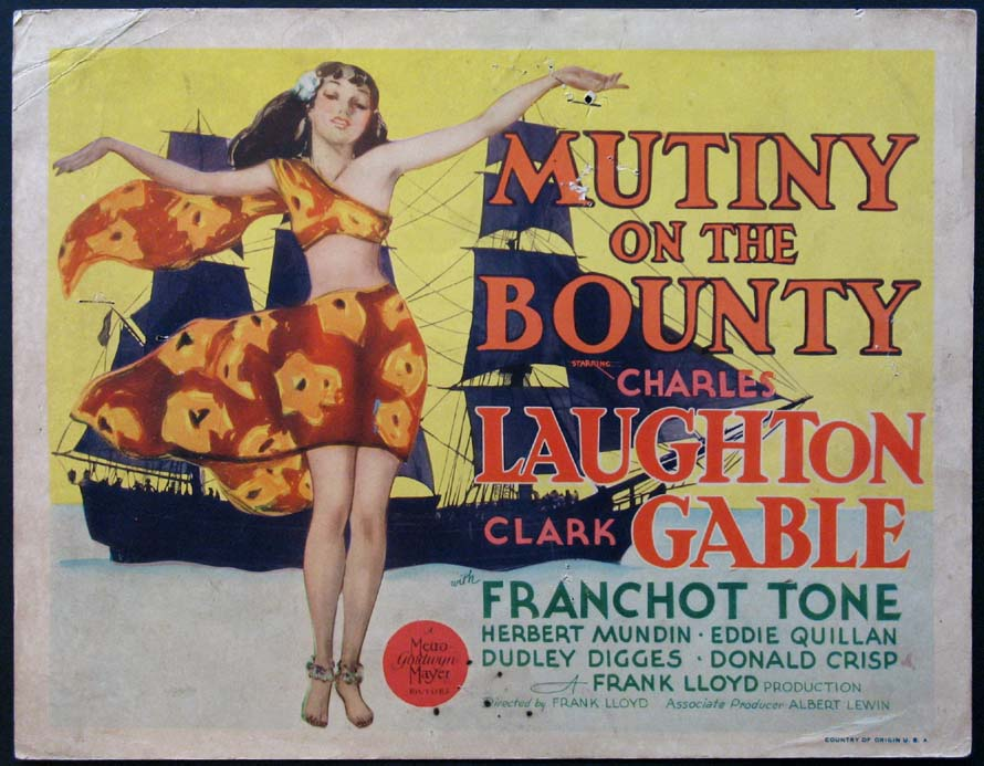 MUTINY ON THE BOUNTY @ FilmPosters.com