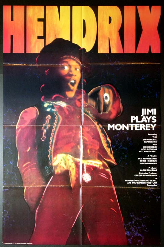 JIMI PLAYS MONTEREY @ FilmPosters.com