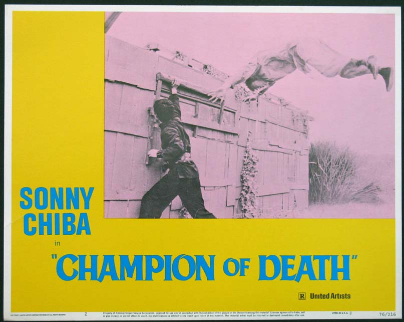 CHAMPION OF DEATH @ FilmPosters.com
