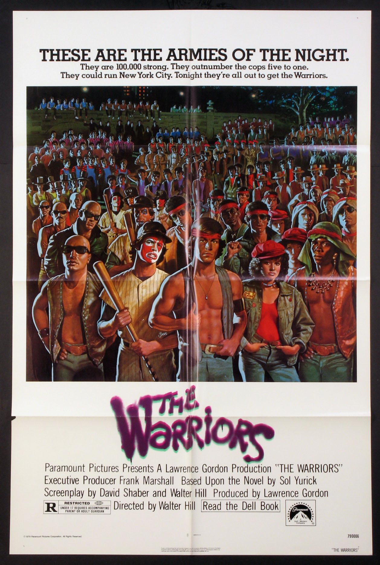 WARRIORS, THE (The Warriors) @ FilmPosters.com