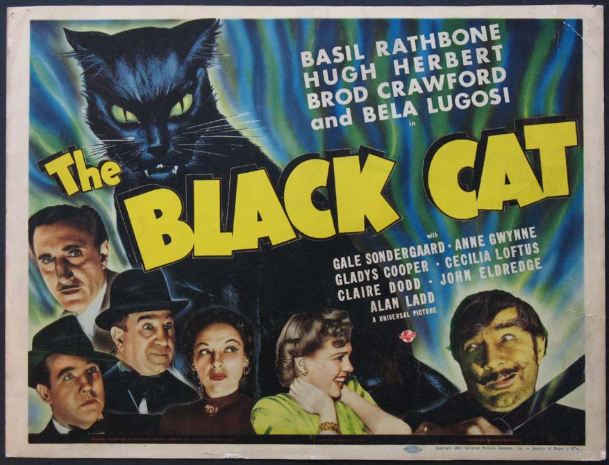 BLACK CAT, THE @ FilmPosters.com