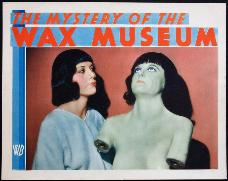 MYSTERY OF THE WAX MUSEUM @ FilmPosters.com