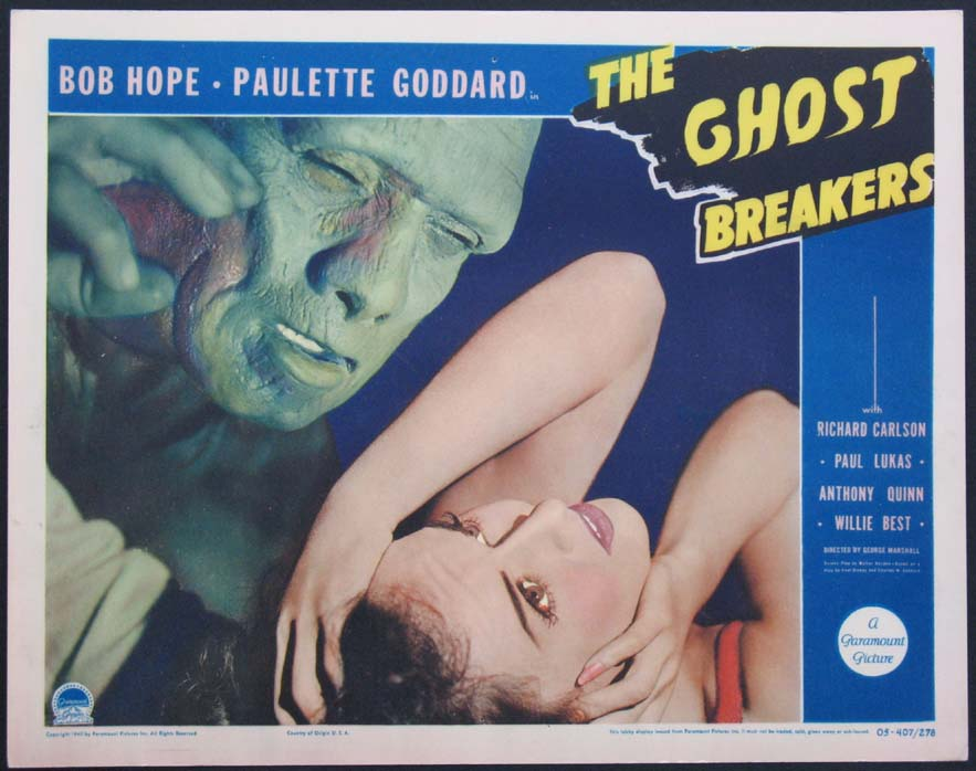 GHOST BREAKERS, THE @ FilmPosters.com
