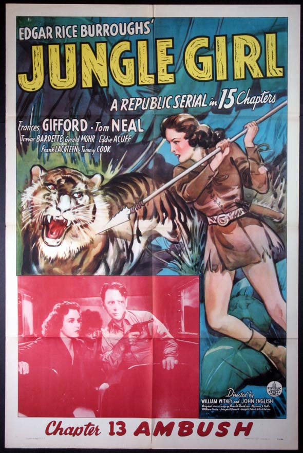 JUNGLE GIRL @ FilmPosters.com