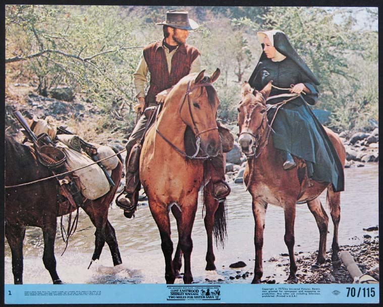 TWO MULES FOR SISTER SARA @ FilmPosters.com