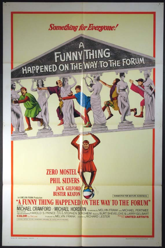 FUNNY THING HAPPENED ON THE WAY TO THE FORUM, A @ FilmPosters.com