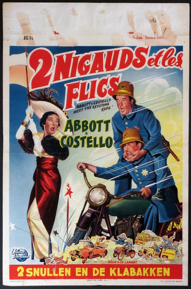 ABBOTT AND COSTELLO MEET THE KEYSTONE KOPS @ FilmPosters.com