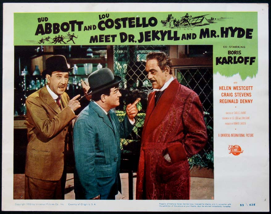 ABBOTT AND COSTELLO MEET DR. JEKYLL AND MR. HYDE @ FilmPosters.com