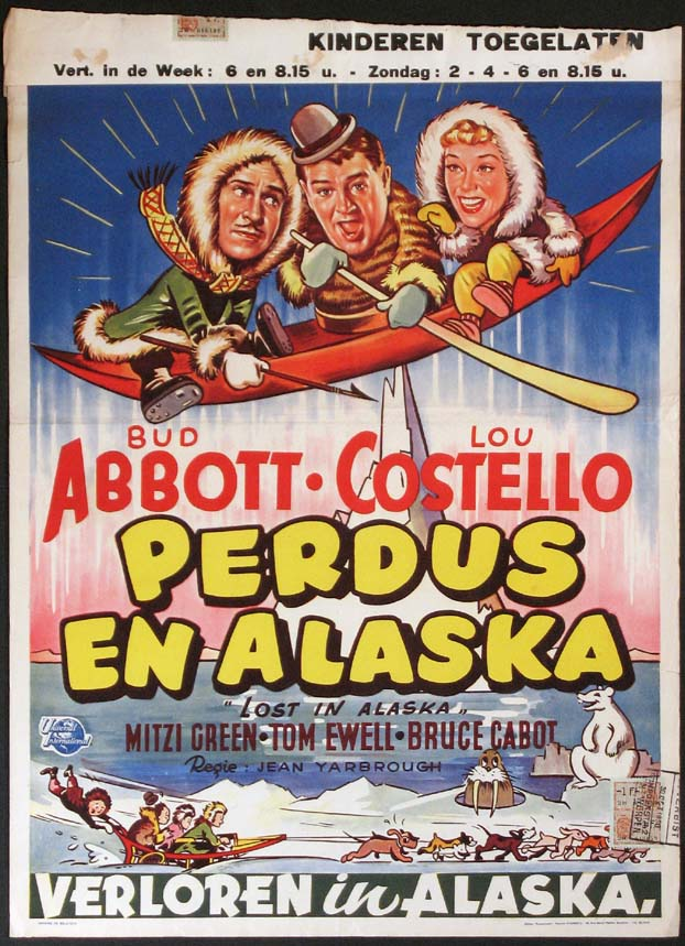 LOST IN ALASKA (Abbott and Costello) @ FilmPosters.com