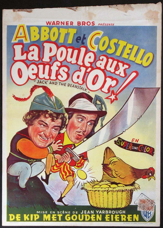 JACK AND THE BEANSTALK (Abbott and Costello) @ FilmPosters.com