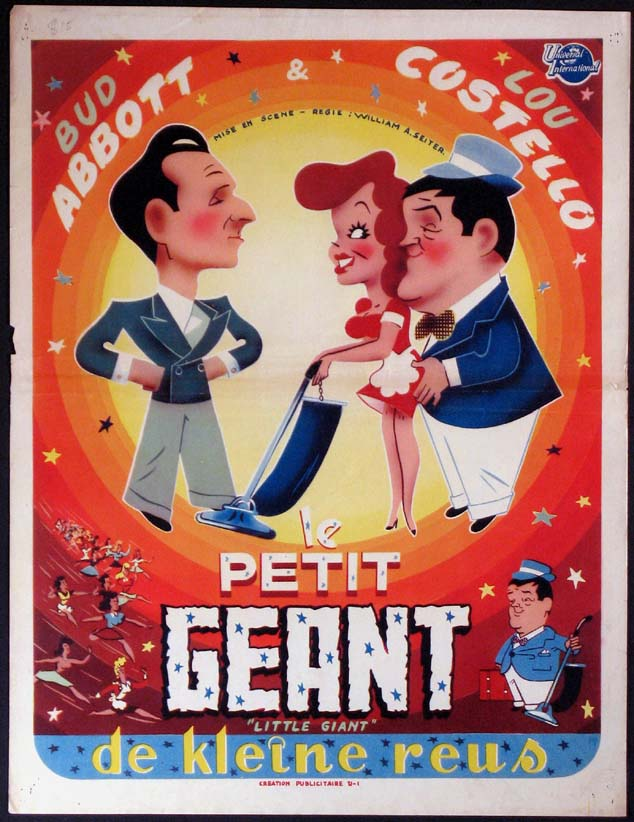 LITTLE GIANT (Abbott and Costello) @ FilmPosters.com