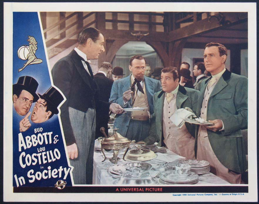 IN SOCIETY (Abbott and Costello in Society) @ FilmPosters.com