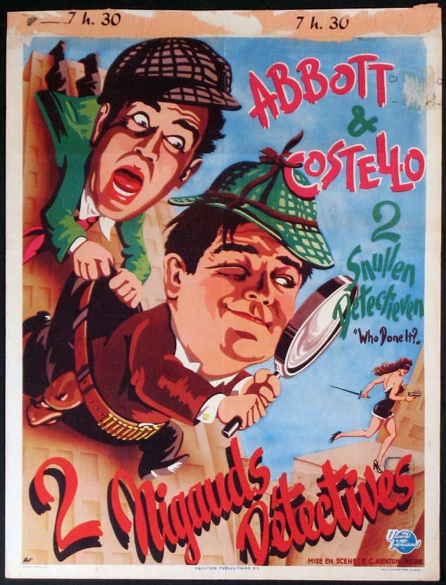 WHO DONE IT? (Abbott and Costello) @ FilmPosters.com