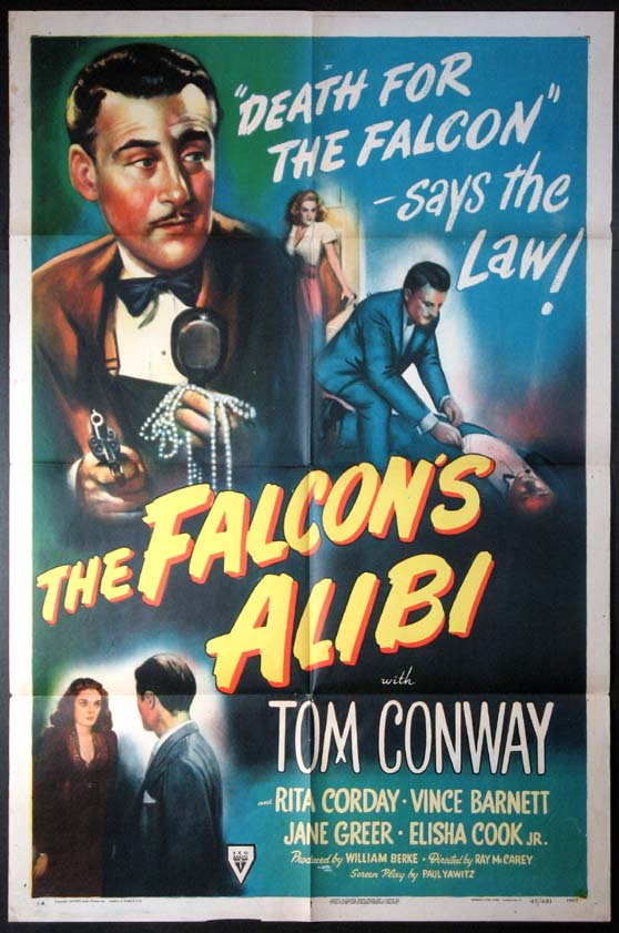 FALCON'S ALIBI, THE @ FilmPosters.com