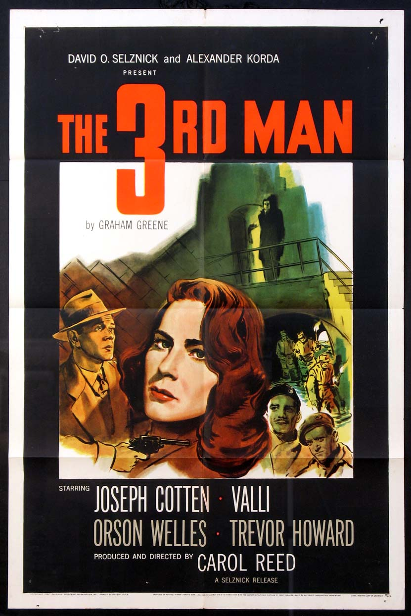 THIRD MAN, THE (The Third Man, The 3rd Man) @ FilmPosters.com