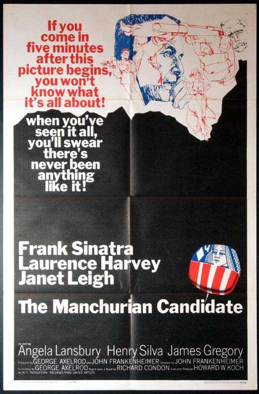MANCHURIAN CANDIDATE @ FilmPosters.com