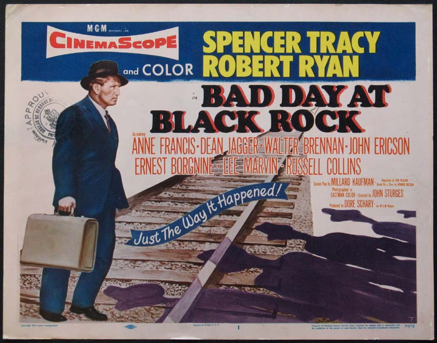 BAD DAY AT BLACK ROCK @ FilmPosters.com