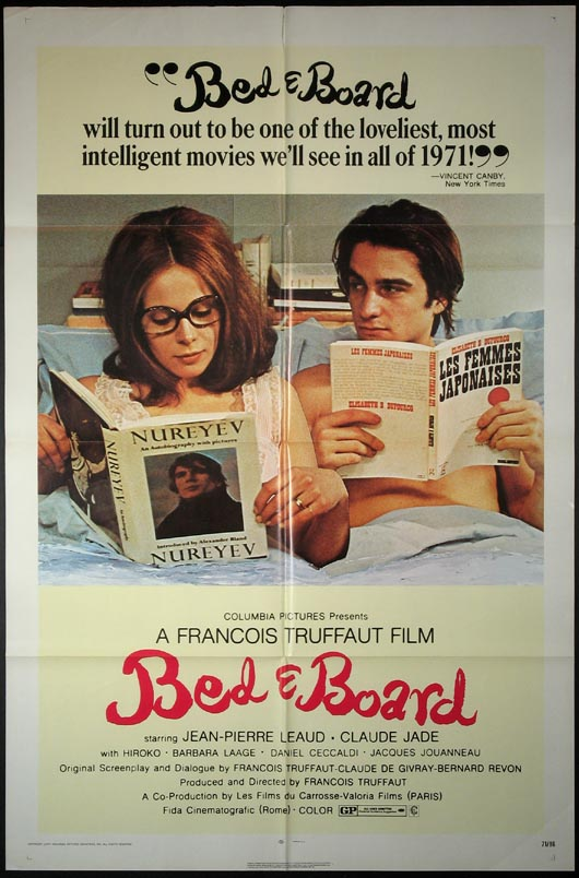 BED AND BOARD (Domicile Conjugal) @ FilmPosters.com