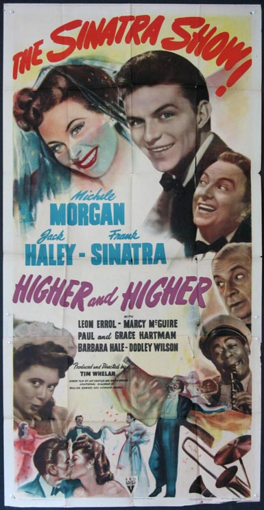 HIGHER AND HIGHER @ FilmPosters.com