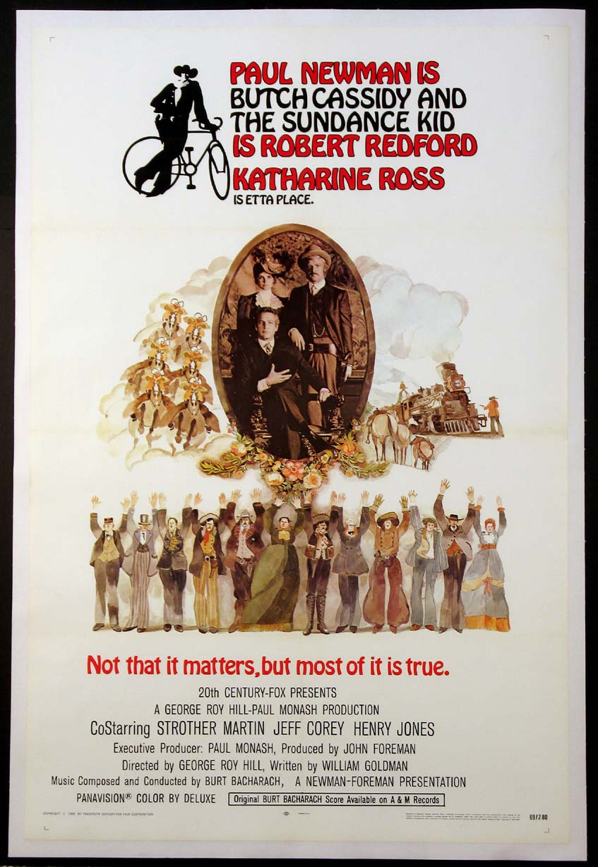 BUTCH CASSIDY AND THE SUNDANCE KID @ FilmPosters.com