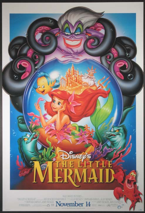 LITTLE MERMAID @ FilmPosters.com