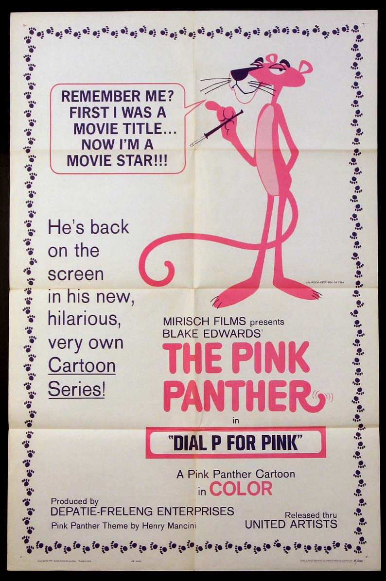 DIAL P FOR PINK @ FilmPosters.com