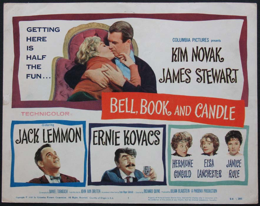 BELL, BOOK AND CANDLE (Bell Book and Candle) @ FilmPosters.com