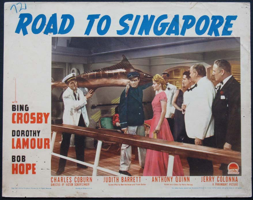 ROAD TO SINGAPORE, THE @ FilmPosters.com