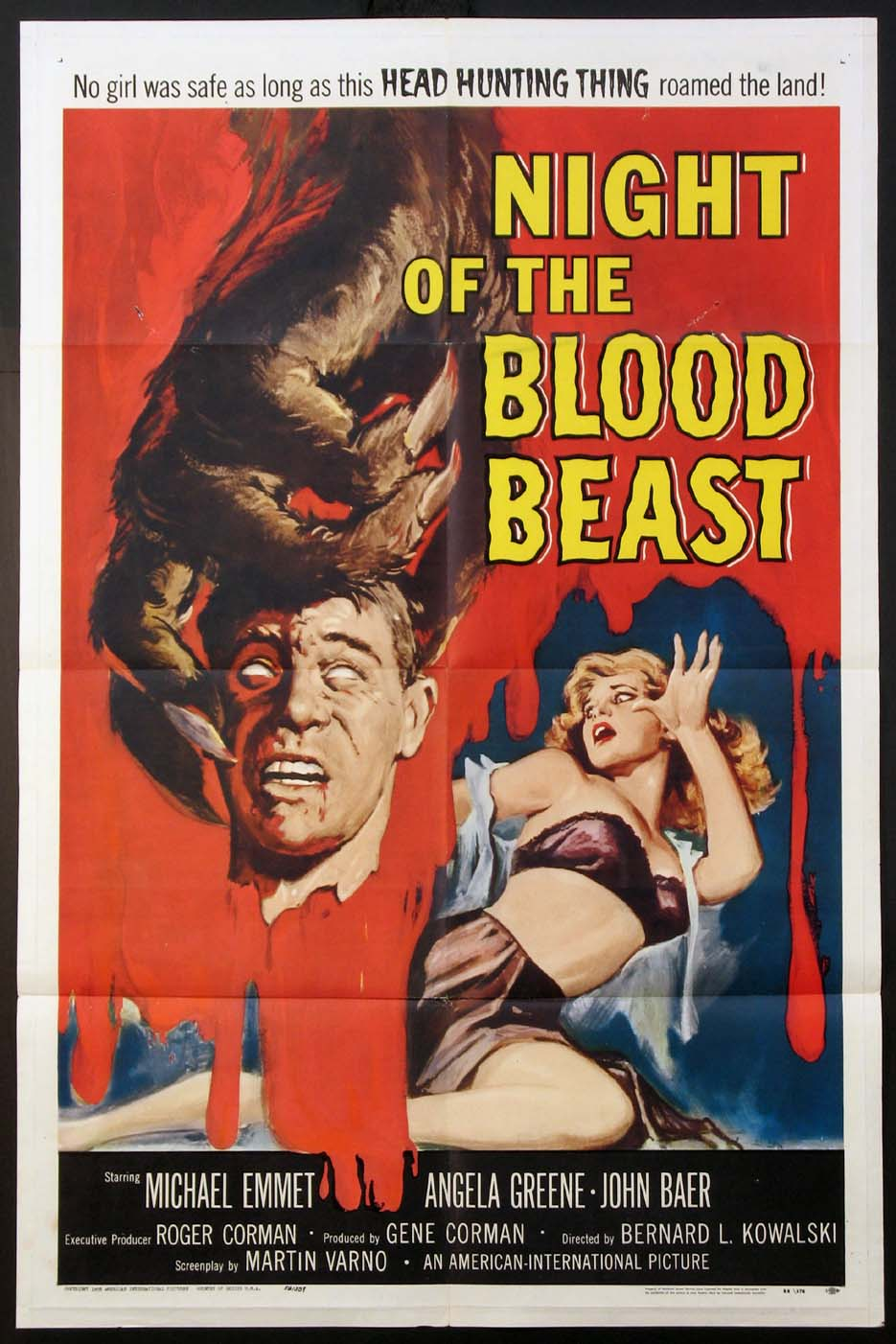 NIGHT OF THE BLOOD BEAST @ FilmPosters.com