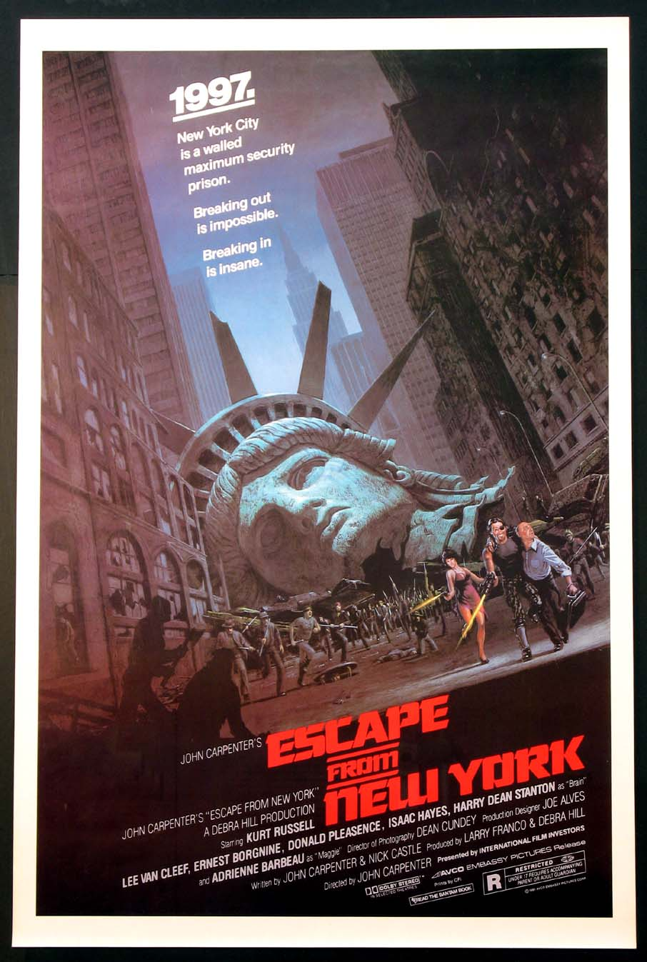 ESCAPE FROM NEW YORK @ FilmPosters.com