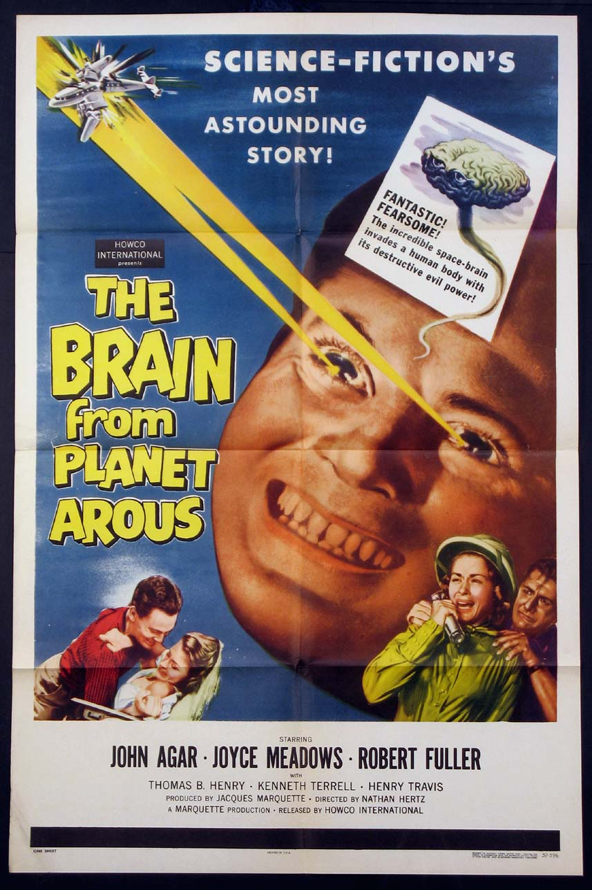 BRAIN FROM PLANET AROUS, THE @ FilmPosters.com