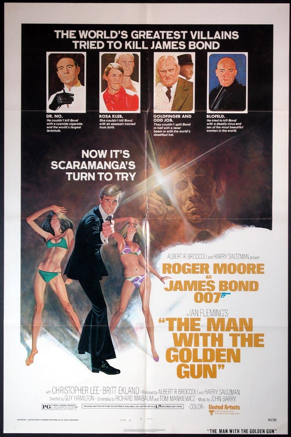 MAN WITH THE GOLDEN GUN @ FilmPosters.com