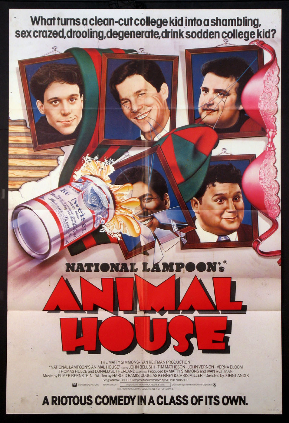 ANIMAL HOUSE @ FilmPosters.com
