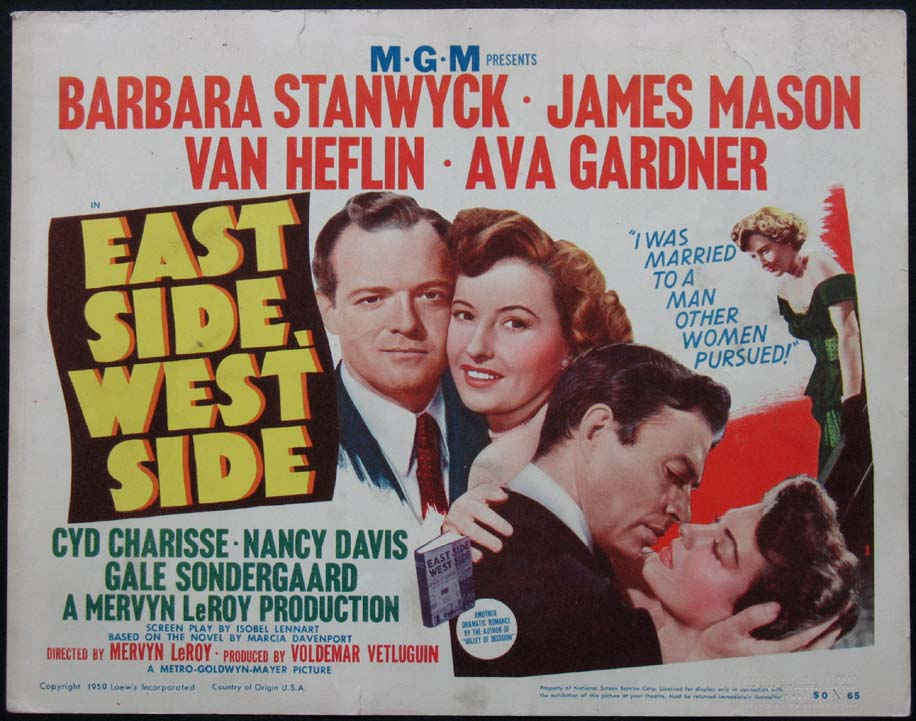 EAST SIDE, WEST SIDE @ FilmPosters.com