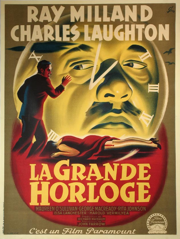 BIG CLOCK, THE (La Grande Horloge) @ FilmPosters.com