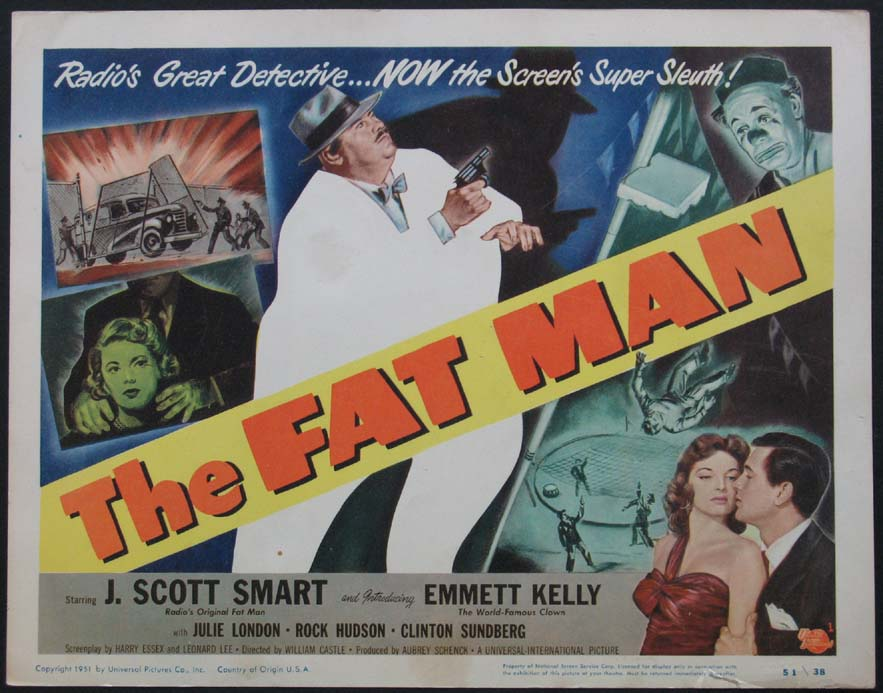 FAT MAN, THE (The Fat Man) @ FilmPosters.com