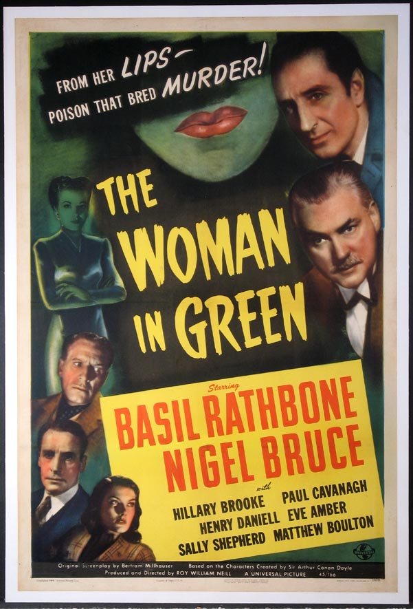 WOMAN IN GREEN, THE (Sherlock Holmes series) @ FilmPosters.com