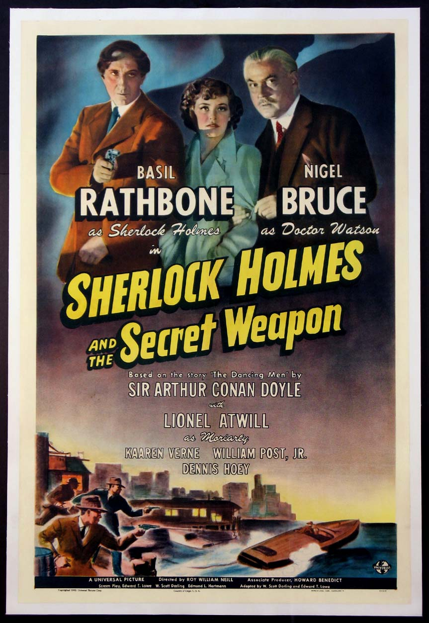 SHERLOCK HOLMES AND THE SECRET WEAPON @ FilmPosters.com