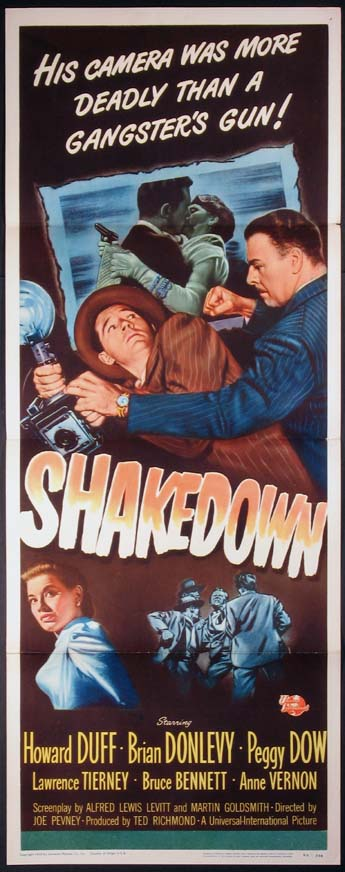 SHAKEDOWN @ FilmPosters.com