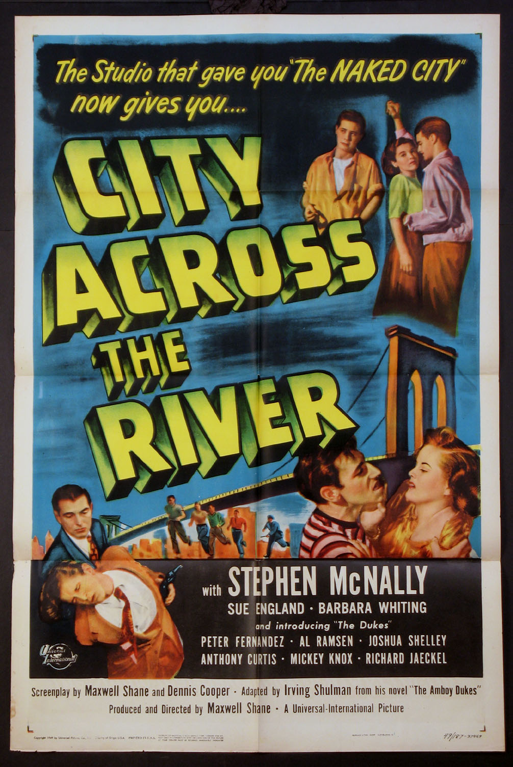 CITY ACROSS THE RIVER @ FilmPosters.com
