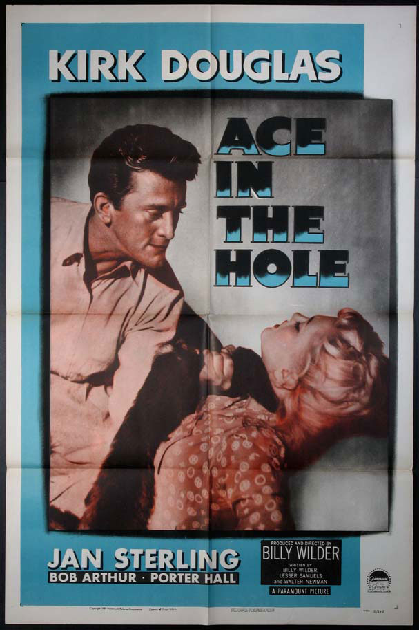 ACE IN THE HOLE (The Big Carnival) @ FilmPosters.com