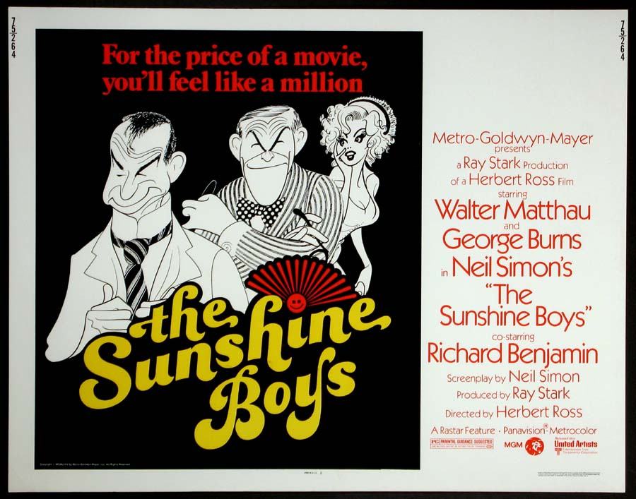 SUNSHINE BOYS, THE @ FilmPosters.com