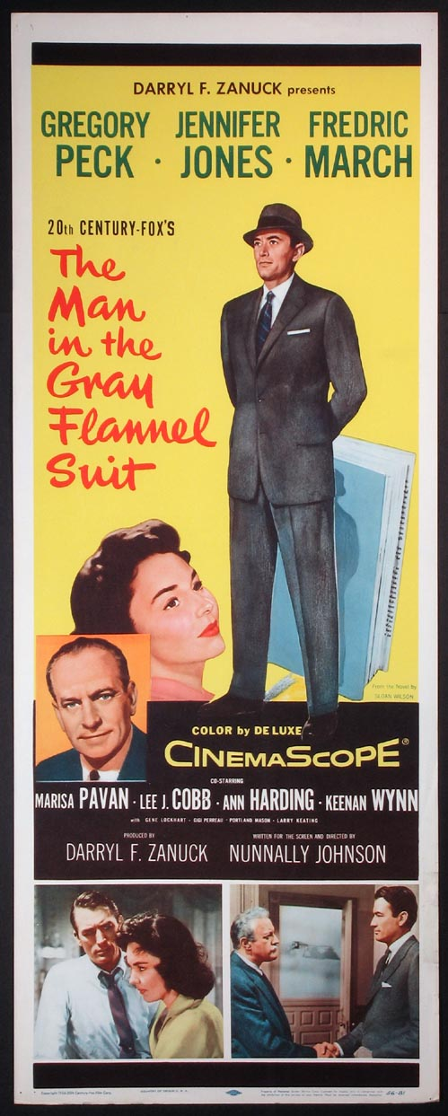MAN IN THE GRAY FLANNEL SUIT @ FilmPosters.com