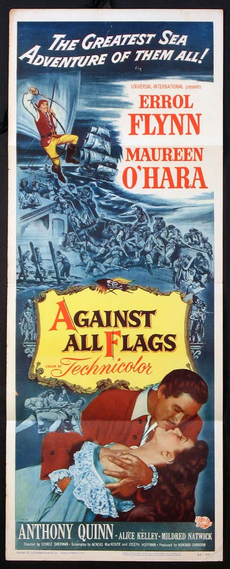 AGAINST ALL FLAGS @ FilmPosters.com
